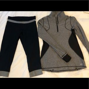 Champion size small activewear outfit